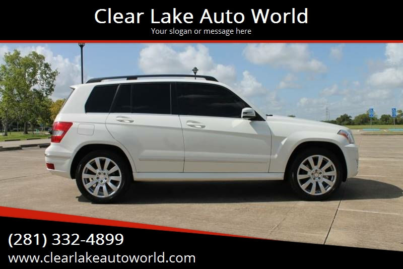2012 Mercedes Benz GLK For Sale At Clear Lake Auto World In League City TX