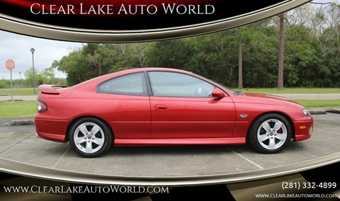 2006 Pontiac GTO for sale in League City, TX