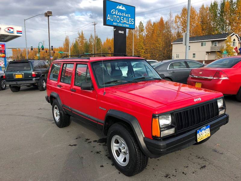 1994 Jeep Cherokee For Sale At Glacier Auto Sales In Anchorage AK