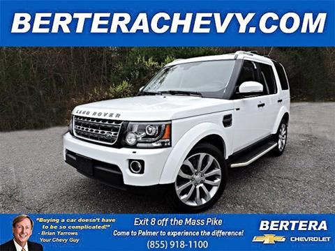 2016 Land Rover LR4 for sale in Palmer, MA
