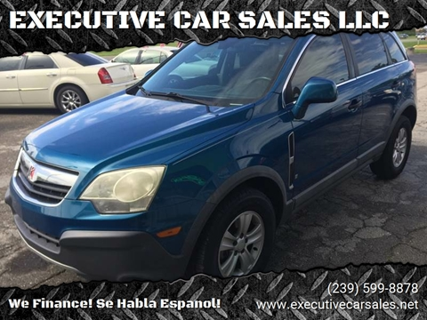 2009 Saturn Vue for sale at EXECUTIVE CAR SALES LLC in North Fort Myers FL