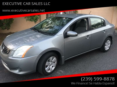 2010 Nissan Sentra for sale at EXECUTIVE CAR SALES LLC in North Fort Myers FL