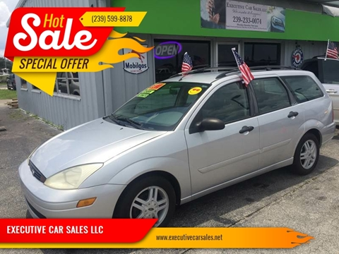 2000 Ford Focus for sale at EXECUTIVE CAR SALES LLC in North Fort Myers FL
