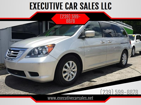 2008 Honda Odyssey for sale at EXECUTIVE CAR SALES LLC in North Fort Myers FL