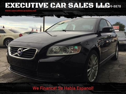 2011 Volvo S40 for sale at EXECUTIVE CAR SALES LLC in North Fort Myers FL