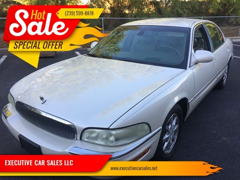 2002 Buick Park Avenue for sale at EXECUTIVE CAR SALES LLC in North Fort Myers FL
