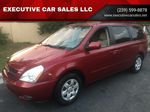 2006 Kia Sedona for sale at EXECUTIVE CAR SALES LLC in North Fort Myers FL