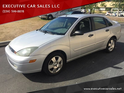 2004 Ford Focus for sale at EXECUTIVE CAR SALES LLC in North Fort Myers FL