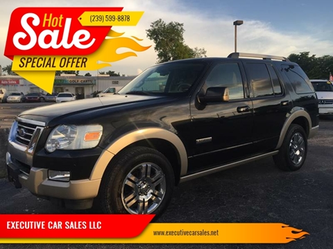 2007 Ford Explorer for sale at EXECUTIVE CAR SALES LLC in North Fort Myers FL