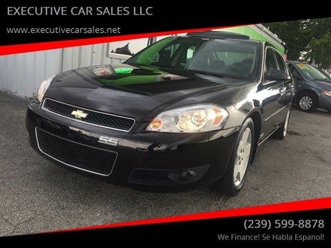 2006 Chevrolet Impala for sale at EXECUTIVE CAR SALES LLC in North Fort Myers FL