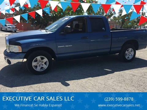 2005 Dodge Ram Pickup 1500 for sale at EXECUTIVE CAR SALES LLC in North Fort Myers FL