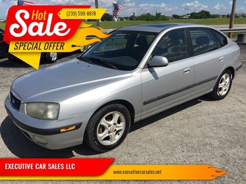 2001 Hyundai Elantra for sale at EXECUTIVE CAR SALES LLC in North Fort Myers FL