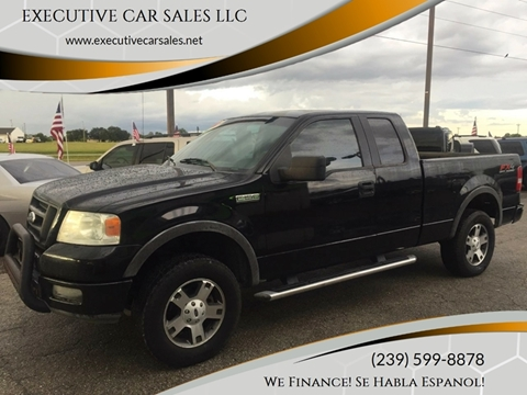 2005 Ford F-150 for sale at EXECUTIVE CAR SALES LLC in North Fort Myers FL