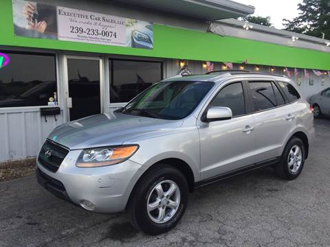 2007 Hyundai Santa Fe for sale at EXECUTIVE CAR SALES LLC in North Fort Myers FL