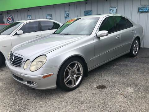 2003 Mercedes-Benz E-Class for sale at EXECUTIVE CAR SALES LLC in North Fort Myers FL
