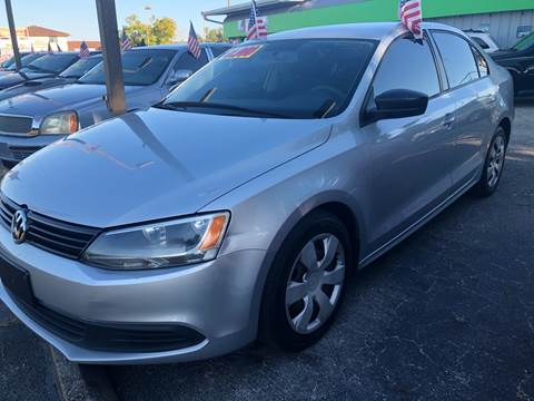 2012 Volkswagen Jetta for sale at EXECUTIVE CAR SALES LLC in North Fort Myers FL