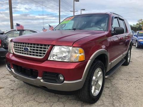 2003 Ford Explorer for sale at EXECUTIVE CAR SALES LLC in North Fort Myers FL