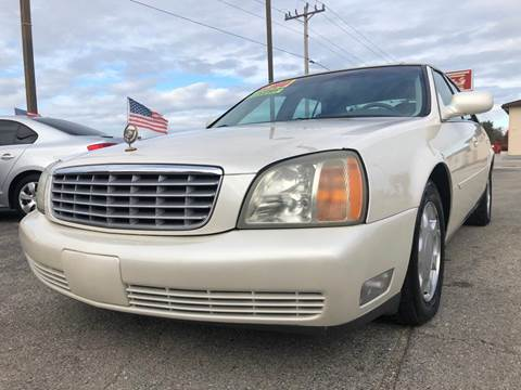 2002 Cadillac DeVille for sale at EXECUTIVE CAR SALES LLC in North Fort Myers FL