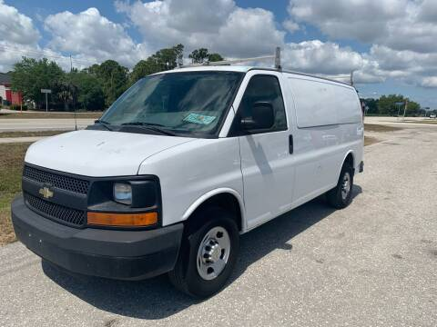 2011 Chevrolet Express Cargo for sale at EXECUTIVE CAR SALES LLC in North Fort Myers FL