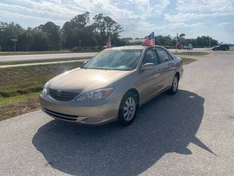 2004 Toyota Camry for sale at EXECUTIVE CAR SALES LLC in North Fort Myers FL