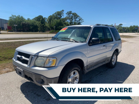 2002 Ford Explorer Sport for sale at EXECUTIVE CAR SALES LLC in North Fort Myers FL