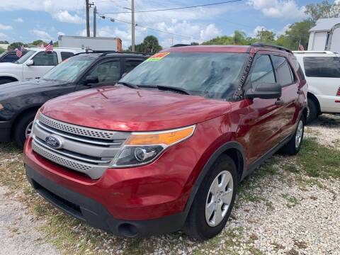 2013 Ford Explorer for sale at EXECUTIVE CAR SALES LLC in North Fort Myers FL