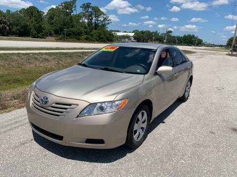2007 Toyota Camry for sale at EXECUTIVE CAR SALES LLC in North Fort Myers FL