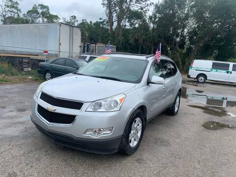 2012 Chevrolet Traverse for sale at EXECUTIVE CAR SALES LLC in North Fort Myers FL