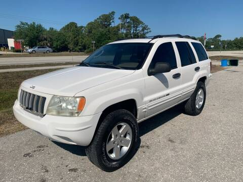 2004 Jeep Grand Cherokee for sale at EXECUTIVE CAR SALES LLC in North Fort Myers FL