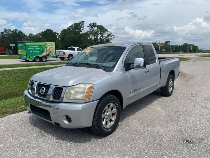 2005 Nissan Titan for sale at EXECUTIVE CAR SALES LLC in North Fort Myers FL