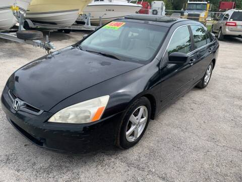 2003 Honda Accord for sale at EXECUTIVE CAR SALES LLC in North Fort Myers FL