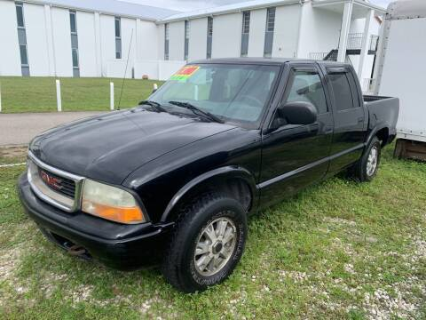 2002 GMC Sonoma for sale at EXECUTIVE CAR SALES LLC in North Fort Myers FL