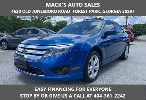 2012 Ford Fusion for sale in Forest Park, GA