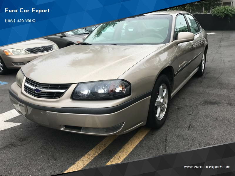 2003 Chevrolet Impala Ls 4dr Sedan In Paterson Nj Euro Car Export