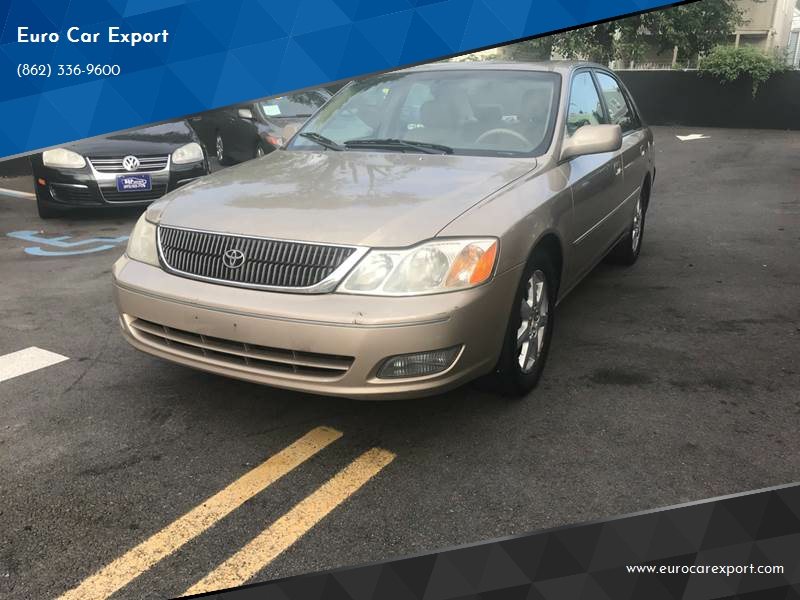 2000 Toyota Avalon Xl 4dr Sedan In Paterson Nj Euro Car Export