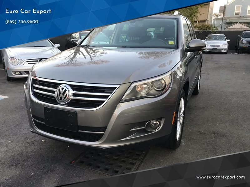 2009 Volkswagen Tiguan Awd Sel 4motion 4dr Suv W 4x4 Rear Side