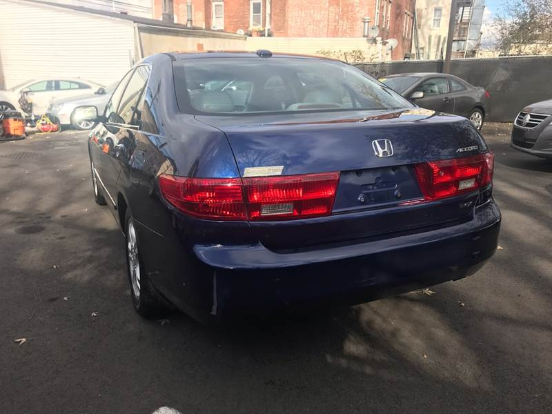 2005 Honda Accord Ex 4dr Sedan W Leather In Paterson Nj Euro Car