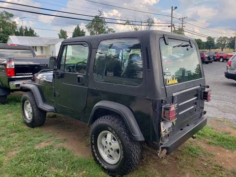 1993 Jeep Wrangler for sale in Inwood, WV