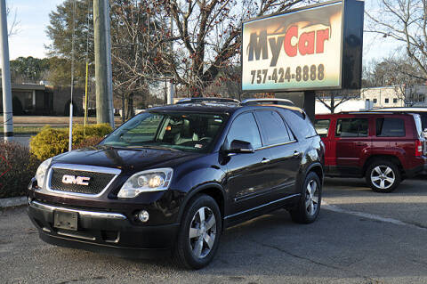 Gmc Acadia For Sale In Virginia Beach Va My Car Llc