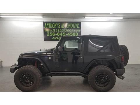 2012 Jeep Wrangler for sale in Fort Payne, AL