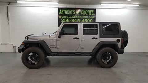 2016 Jeep Wrangler Unlimited for sale in Fort Payne, AL