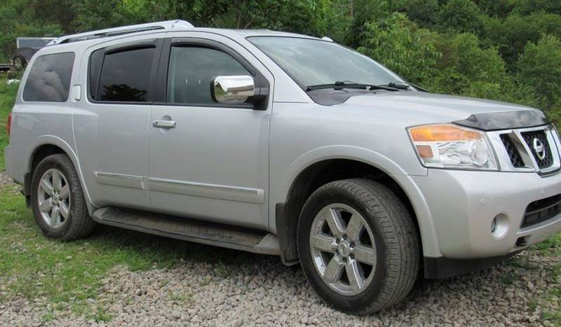 2010 Nissan Armada For Sale At TRI STATE MOTORS LLC In Newell WV