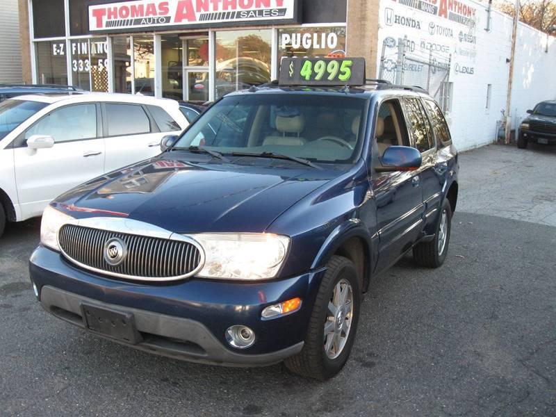 2004 Buick Rainier for sale at Thomas Anthony Auto Sales LLC DBA Manis Motor Sale in Bridgeport CT