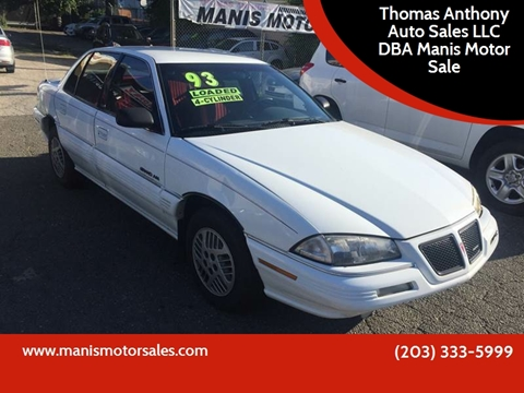 1993 Pontiac Grand Am for sale in Bridgeport, CT