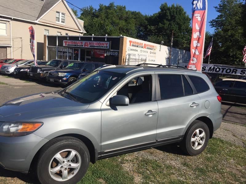 2007 Hyundai Santa Fe for sale at Thomas Anthony Auto Sales LLC DBA Manis Motor Sale in Bridgeport CT