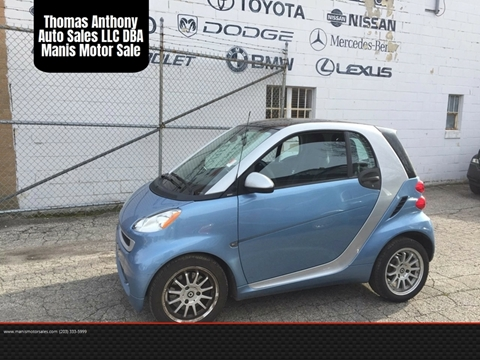2012 Smart fortwo for sale in Bridgeport, CT