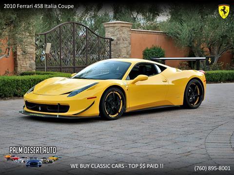 2010 Ferrari 458 Italia For Sale Carsforsale