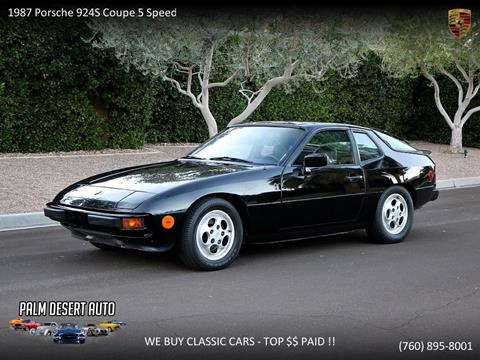1987 Porsche 924 for sale in Palm Desert, CA