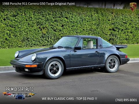 1988 Porsche 911 for sale in Palm Desert, CA
