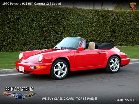 1990 Porsche 911 for sale in Palm Desert, CA